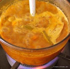 Add sambar powder